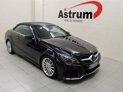 käytetty Mercedes E350 BlueTec Cabriolet A AMG *LED ILS / AJOAVUSTINPKT / NAVI / HUIPPUHIENO!*