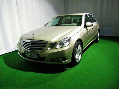 käytetty Mercedes E200 CDI BE Elegance 4d A