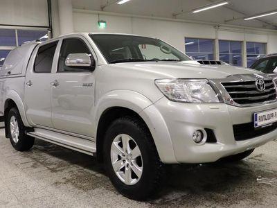 käytetty Toyota HiLux Double Cab 3,0 D-4D 4WD 171 SR+ aut. REK.5H, Lasikuitukate