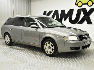 käytetty Audi A6 Avant 2,4 V6 125kW multitronic-autom // A-ilmastointi / Tummennetut takalasit //