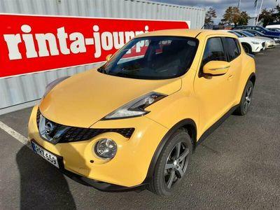 käytetty Nissan Juke DIG-T 115 Acenta 2WD 6M/T - Automaatti-ilmastointi, Vakionopeudensäädin, Moottorilämmitin, sisäpisto
