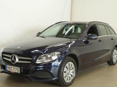 käytetty Mercedes C220 d A Premium Business - ** NAVI ** TUTKAT ** VETOKOUKKU **