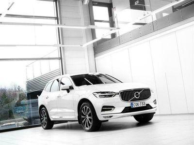 käytetty Volvo XC60 B4 AWD MHEV Inscription Aut + Nahat + Navi + Keyless Go + LED-valot + Tutkat + Vetokoukku + Takuu