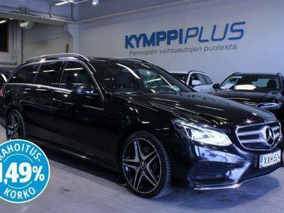 käytetty Mercedes E350 BlueTec T 4Matic A Premium Business AMG - ** RAHOITUSKORKO 1,49% ** - Navi / 360° Kamera / Sähköluukku / Muistipenkit / ILS LED