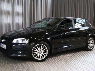 käytetty Audi A3 Sportback Ambition 1,4 TFSI 92 kW S tronic Start-Stop Black Edition