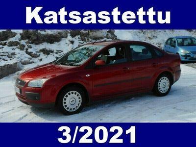 käytetty Ford Focus 1,6 100hv Trend M5 Sedan !! KATSASTETTU 3/2021 - HYVÄKUNTOINEN KÄYTTÖAUTO EDULLISEEN HINTAAN !!