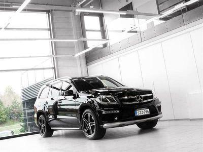 käytetty Mercedes GL350 BlueTEC 4Matic AMG Aut + 7-Paikkainen + Nahat + Navi + Webasto + Peruutuskamera + Vetokoukku