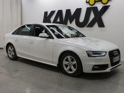 käytetty Audi A4 Sedan Business Sport 2,0 TDI 110 kW multitronic // 1 Omistajalta / S-Line / PA-Lisälämmitin //