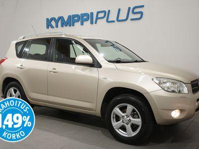 käytetty Toyota RAV4 2,0 VVT-i 4WD Luxury - ** RAHOITUSKORKO 1,49% ** - Koukku / Lohko + sisätilanlämmitin / Hyvin huollettu