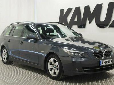käytetty BMW 525 E61 Touring / 3.0 Koneella / Vakkari / Bi-Xenon / Tutka takana