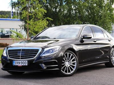 käytetty Mercedes S500 Plug-In Hybrid - Tyylikästä autoilua...