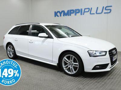 käytetty Audi A4 Avant Black Edition 2,0 TDI 105 kW multitronic - ** RAHOITUSKORKO 1,49% ** - * Koukku / Sporttipenkit / Suomi-auto / 1-Omistaja *