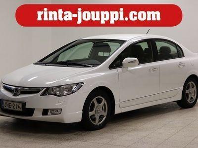 käytetty Honda Civic 1.4 Hybrid 4d CVT - Juuri huollettu, uudet kesärenkaat, taloudellinen!