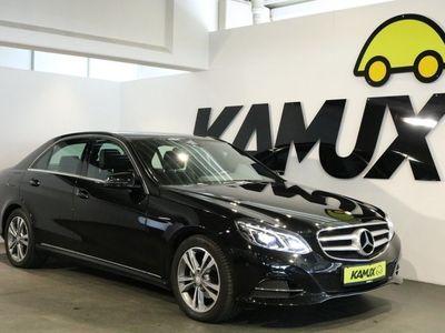 käytetty Mercedes E200 CGI 7G-Tronic Avantagrde +LED +Navi +2x Parkkitutka +Istuinlämmitin