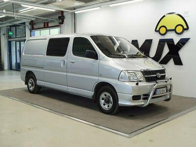 käytetty Toyota HiAce 2,5 D-4D 4WD 117 5ov pitkä