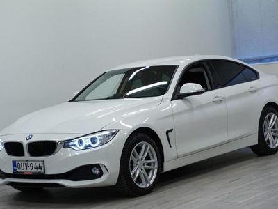 käytetty BMW 420 4-SARJA F36 Gran Coupe i A xDrive Bsn - Sport-istuimet, Lohkolämmitin, Navigointi