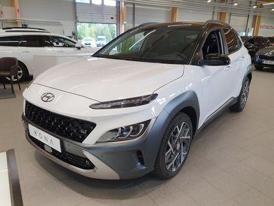 käytetty Hyundai Kona 1,6 hybrid 141 hv 6-DCT-aut. Style MY21 #Navi-pack #Safety-pack