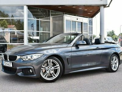käytetty BMW 430 430 F33 Cabriolet i, H/K, Nahat, Sähk. Ist. M Sport-Alusta, Tutkat, BT-Audio, Xenon, Täyd. HK
