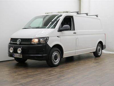 käytetty VW Transporter umpipakettiauto pitkä 2,0 TDI 110 kW 4Motion **** LänsiAuto Safe -sopimus hintaan 590€. ****