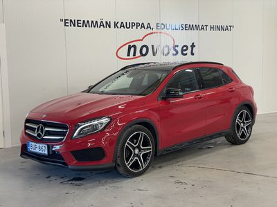 käytetty Mercedes GLA200 A AMG-Styling Night Edition * H/K / PANORAMA / NAVI / KAMERA / CARBON * *1.99% KORKO, 0€ KOTIINTOIMITUS*