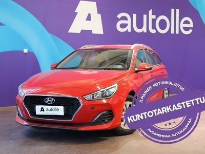 käytetty Hyundai i30 *KOTIINTOIMITUS* Wagon 1,4 T-GDI 7DCT-aut Fresh. Tarkastettuna, Rahoituksella, Kotiin toimitettuna!