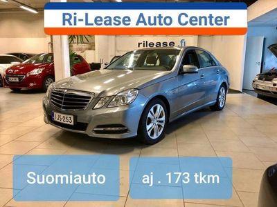 käytetty Mercedes E200 CDI BE A Premium Business, Suomiauto .Xenon