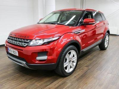 käytetty Land Rover Range Rover evoque 2,2 TD4 Pure Aut **** Korko 0,99% + min. 1500 EUR takuuhyvitys ****