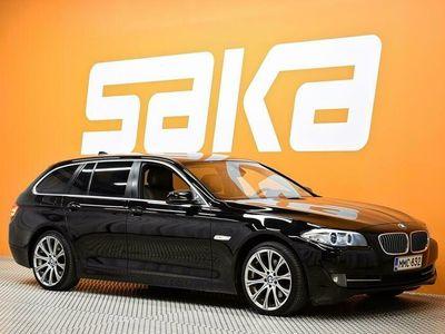 käytetty BMW 520 F11 Touring ** Prof. Navi / Sporttipenkit / Nahkasisusta / Vetokoukku **