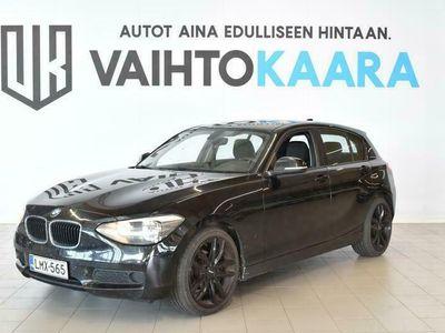"""käytetty BMW 116 i F20 TwinPower Turbo 5ov # SIITIKUNTOINEN # JAKOKETJU VAIHDETTU # 18"""" Vanteet, Ilmastointi #"""