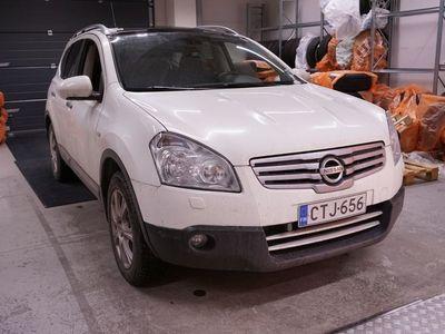 käytetty Nissan Qashqai +2 2,0 Acenta-RC CVT 4WD ** Suomiauto / 7-paikkainen / Navi / P-kamera / Lasikatto / Vetokoukku **