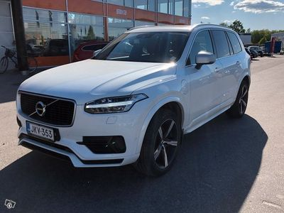käytetty Volvo XC90 T8 Twin Engine AWD R-Design aut ** Webasto / Pilot Assist / Muistipenkit / Panorama / LED / KeyLess
