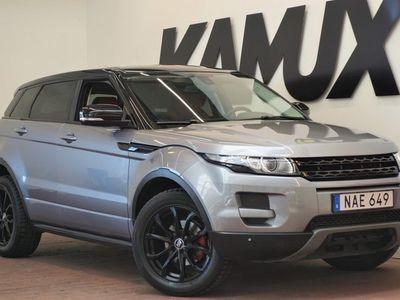 käytetty Land Rover Range Rover evoque 2.0 Si4 4WD   Nahkaverhoilu   Navi   Peruutuskamera   240hv