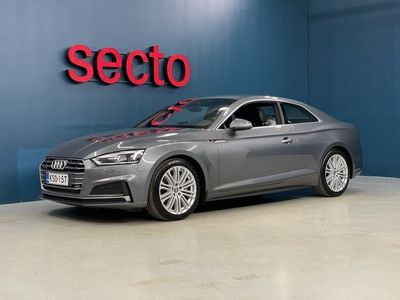 käytetty Audi A5 Coupé Business Sport S-LINE 3,0 TDI 160 Quattro S tronic, Matrix ajovalot, Lisälämmitin, Vetokoukku