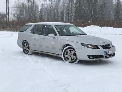 käytetty Saab 9-5 9-5 5DWAGON 2.0 AUTOMATIC** Suomi-auto / P-tutka / Koukku / 2x alut**
