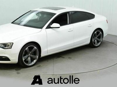 käytetty Audi A5 Sportback 3,0 V6 TDI DPF 180 Q A (MY13) Hieno ja tyylikäs navigoinnilla ja sporttipenkeillä!