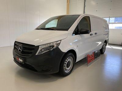 käytetty Mercedes Vito 116CDI 7G-TRONIC SIS ALV 24% *LAADUKKAAT BOTT HYLLYT, 2X LIUKUOVET, LED VALOT*
