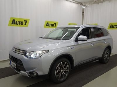 käytetty Mitsubishi Outlander P-HEV 2,0 MIVEC Plug-in Hybrid Intense CVT-Autom.4WD NAVI, CRUISE, KAMERA, KOUKKU, NELIVETO!!