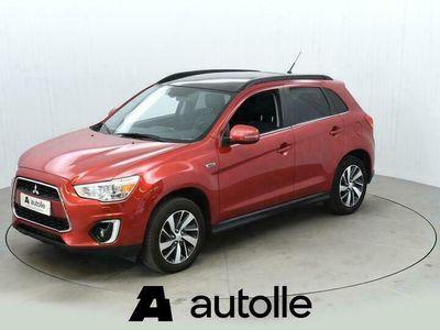 käytetty Mitsubishi ASX *KUNTOTARKASTETTU* 2.2 DI-D Cleartec Instyle 4WD 110kW Aut. Tarkastettuna, Rahoituksella, Kotiin toimitettuna!