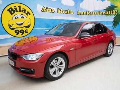 käytetty BMW 318 d F30 TwinPower Turbo A Business Sport * JUURI HUOLLETTU JA KATSASTETTU! * - *NYT ON OSTAJAN MARKKIN