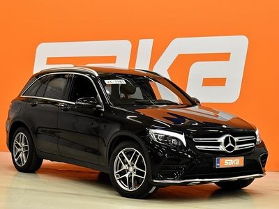 käytetty Mercedes GLC220 d 4Matic A Premium Business AMG-Styling ** Panoraama / Navigointi / Koukku / Tutkat **
