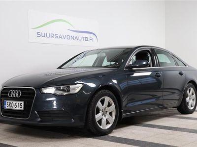 käytetty Audi A6 Sedan Business 2,0 TDI 130 kW multitronic Start-Stop **1- OMISTAJA / SPORT- PENKIT / SUOMI- AUTO**