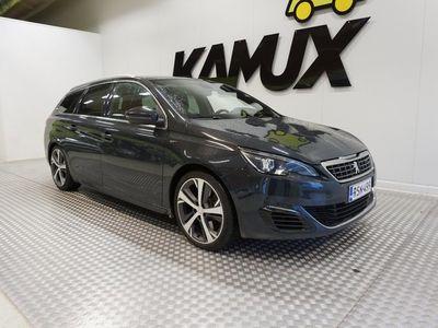 käytetty Peugeot 308 SW GT BlueHDi 180 Automaatti/ Hierovat sport etuistuimet, Vetokoukku/ Webasto