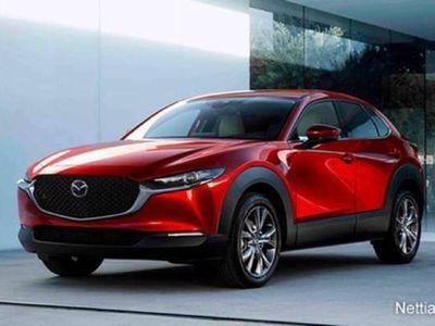 käytetty Mazda CX-30 AWD 2,0 (186hv) M Hybrid Skyactiv-X Elegance SR AT White Leather