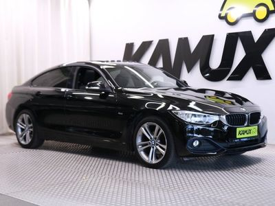 käytetty BMW 420 Gran Coupé F36 420d A xDrive Sport-Line / Neliveto / Kattoluukku / Nahkaverhoilu / Sport-istuimet /