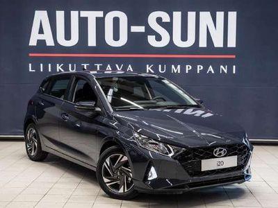 käytetty Hyundai i20 5d 1,0 T-GDI 100 hv 7-DCT Comfort #Navi + Bluelink #Aurora Grey -väri #Heti toimitukseen *** Tähän auto