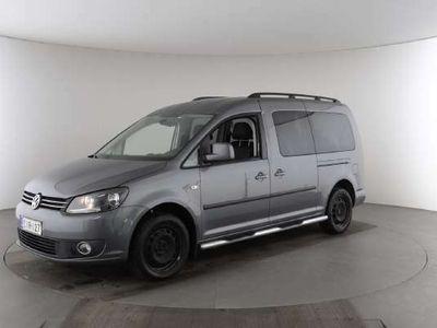 käytetty VW Caddy Maxi Comfortline 1,6 TDI 75 kW - Tilan tarpeeseen 7