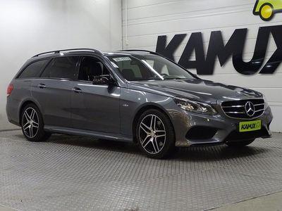 käytetty Mercedes E220 BlueTEC 9G-Tronic AMG / Sähköluukku / Vetokoukku / Edition E