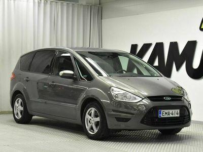 käytetty Ford S-MAX 2,0 TDCi 140 hv Titanium M6 5-ovinen - Tilava 7-paikkainen