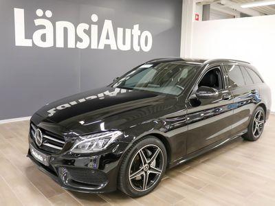 käytetty Mercedes C220 T D 9G-TRONIC 4MATIC AMG **** LänsiAuto Safe -sopimus hintaan 590EUR. ****