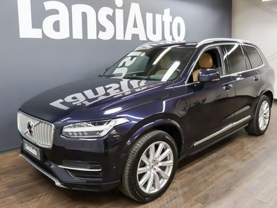 käytetty Volvo XC90 T8 Twin Engine AWD Inscription aut ** ALV - 7 PAIKKAINEN - AGNES NAPPANAHKA SPORT ISTUIMET - HUD - SENSUS AUDIO PREMIUM SOUND BY B&W **